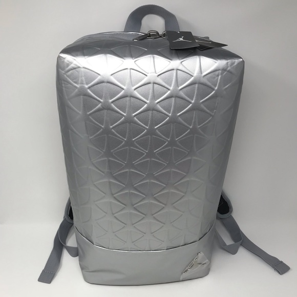 2be16c91d7c9 Nike Air Jordan Flight Flex Backpack Silver